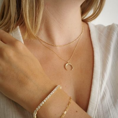 Halskette Fine Line Gold