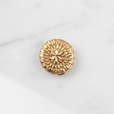 Ohrclip Dandelion Large Gold