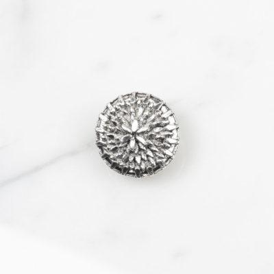 Ohrclip Dandelion Large Silber