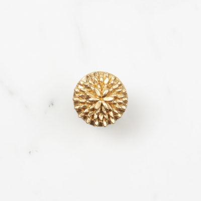Ohrstecker Dandelion Medium Gold