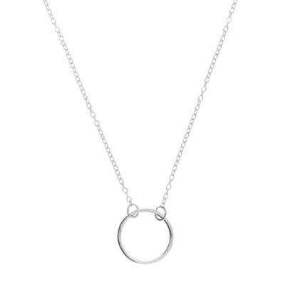 Halskette Circle Silber