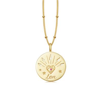 Halskette Love Gold
