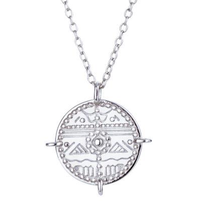Halskette Maya Silber