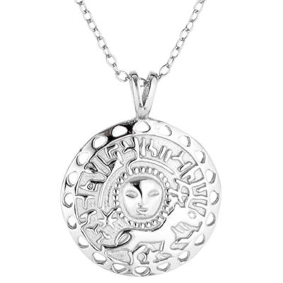 Halskette Sonnenamulett Silber
