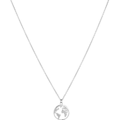 Halskette Welt Silber