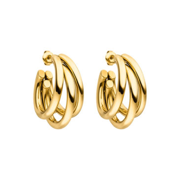 Ohrring-Hoop-Gold-Creole-Fourth-Dimension