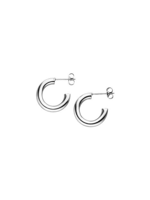 Ohrringe-Edelstahl-Creole-Silber-Hoop-Fourth-Dimension