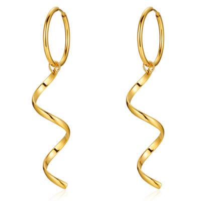 Or-Edelstahl-Creole-Spirale-gold