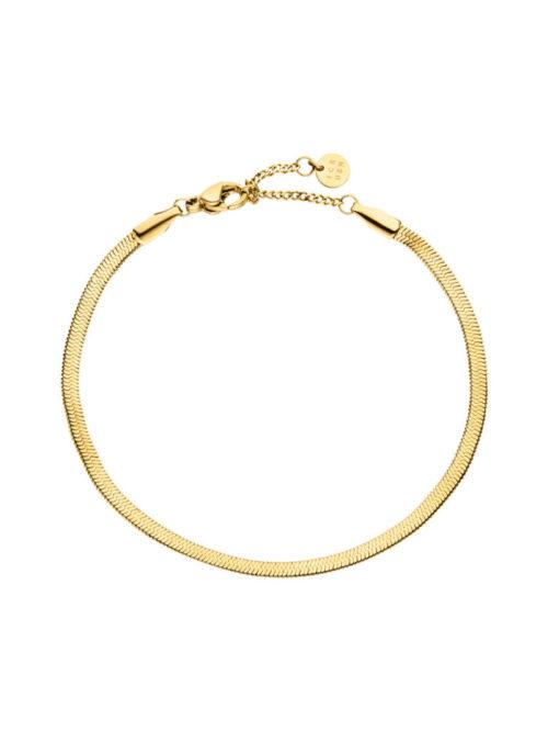 Schlangen-Armband-Gold-Fourth-Dimension