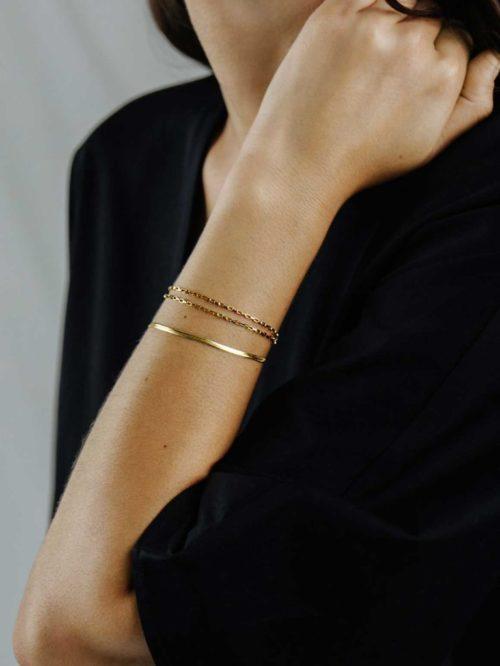 Schlangen-Armband-Gold-Fourth-Dimension-people-2