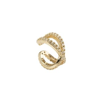 Fourth-Dimension-Gold-Earcuff-X-Zirkonia