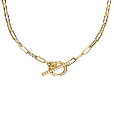 Fourth-Dimension-Halskette-Gold-Silber-Chain-Lock