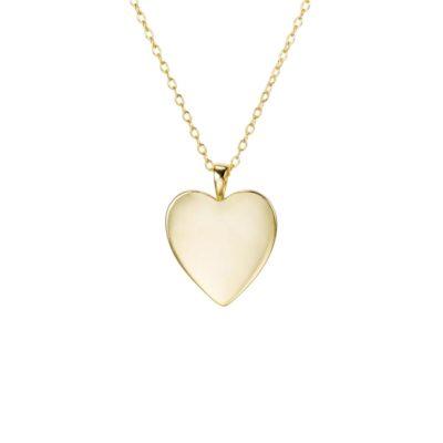 Halskette Herz Gold