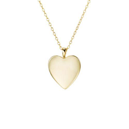 Fourth-Dimension-Halskette-Herz-Gold