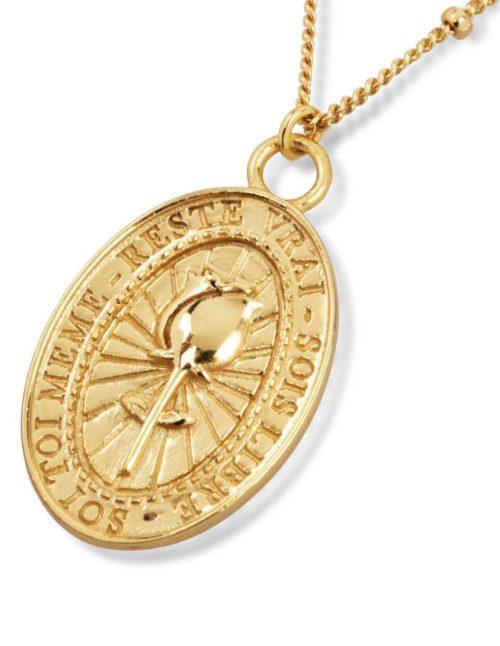 Fourth-Dimension-Halskette-Rose-Gold