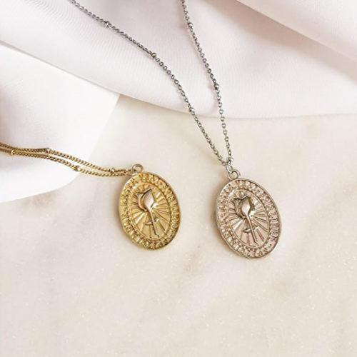 Fourth-Dimension-Halskette-Rose-Gold-silber