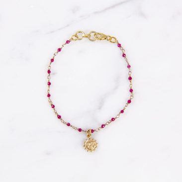 Armband-Sonne-Achat-Pink-Gold-Fourth-Dimension-Muenchen-Schmuck