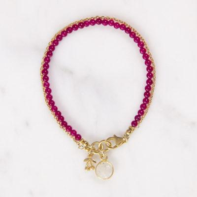 Armband Lulu Pinker Achat Gold