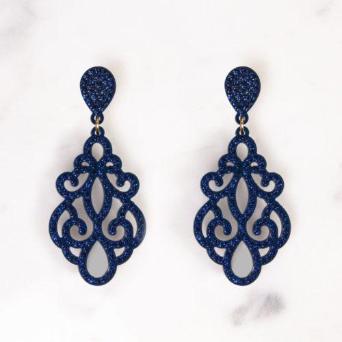 FD-Ohrringe-Ornament-Blau2Fourth-Dimension-Schmuck-Muenchen