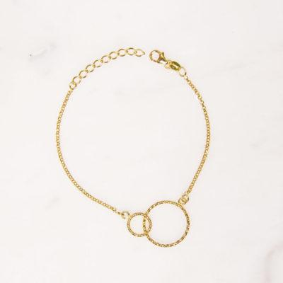 Armband Kreis Gold