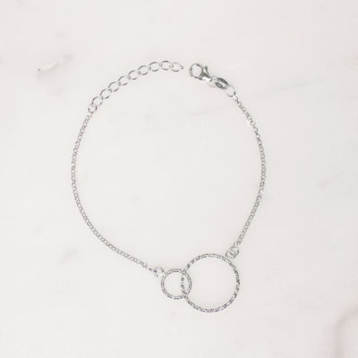 Armband Kreis Silber
