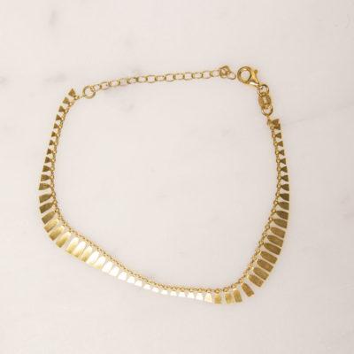 Armband Fransen Gold
