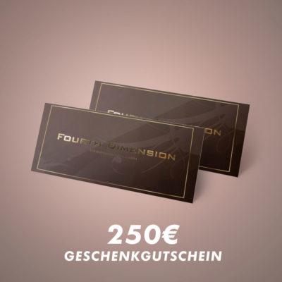 Geschenkgutschein 250€
