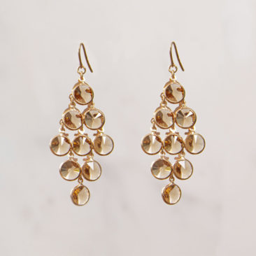 Ohrring-Raute-Gross-Champagner-Rosegold-Fourth-Dimension-Schmuck-Muenchen-2