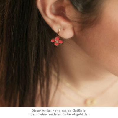 Ohrhänger Fleur Perlmutt Gold