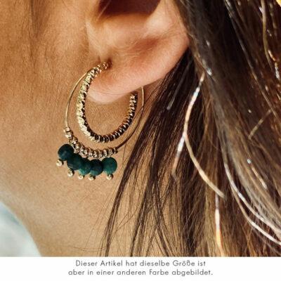 Creole Amazonit-Perlen Gold