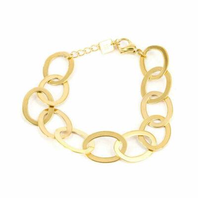 Armband Ovale Glieder Gold