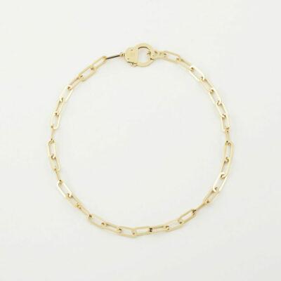 Halskette Handcuffs Gold