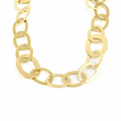 Halskette Ovale Glieder Gold