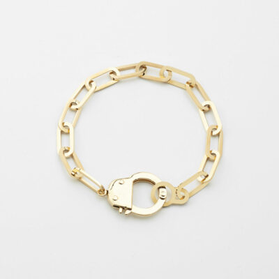 Armband Handcuffs Gold